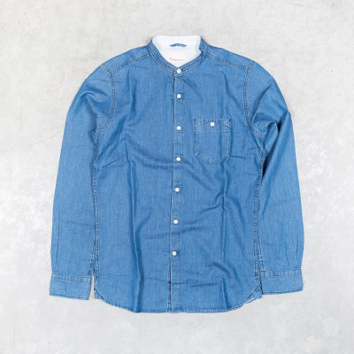 Strand Collar Denim Shirt