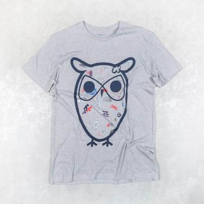 T-shirt W/Big Concept Owl Print