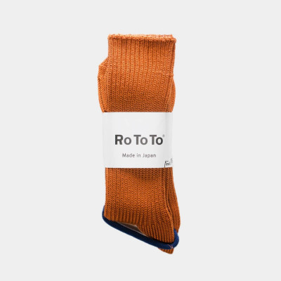 Silky touch loose rib Socks