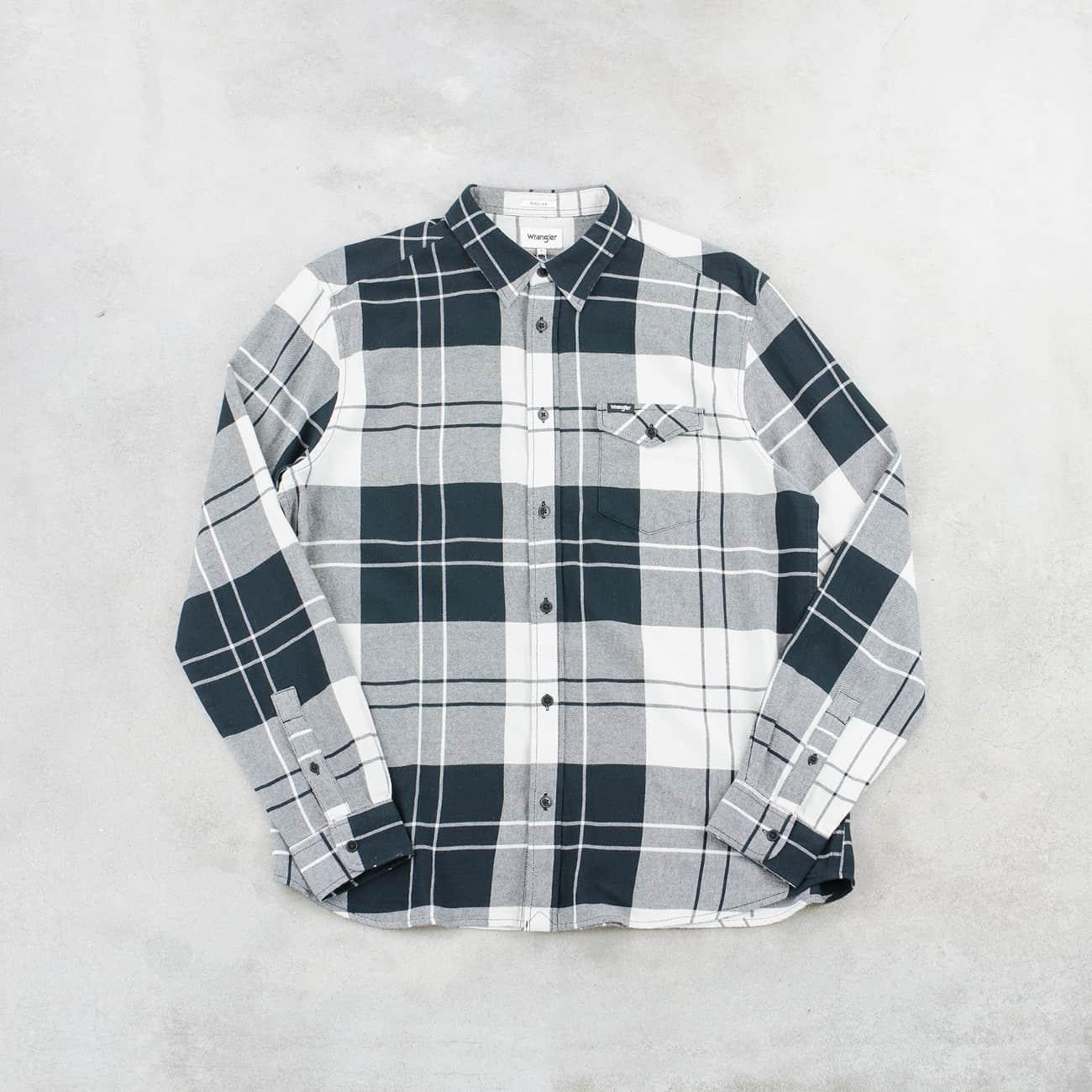 LS 1pkt flap shirt