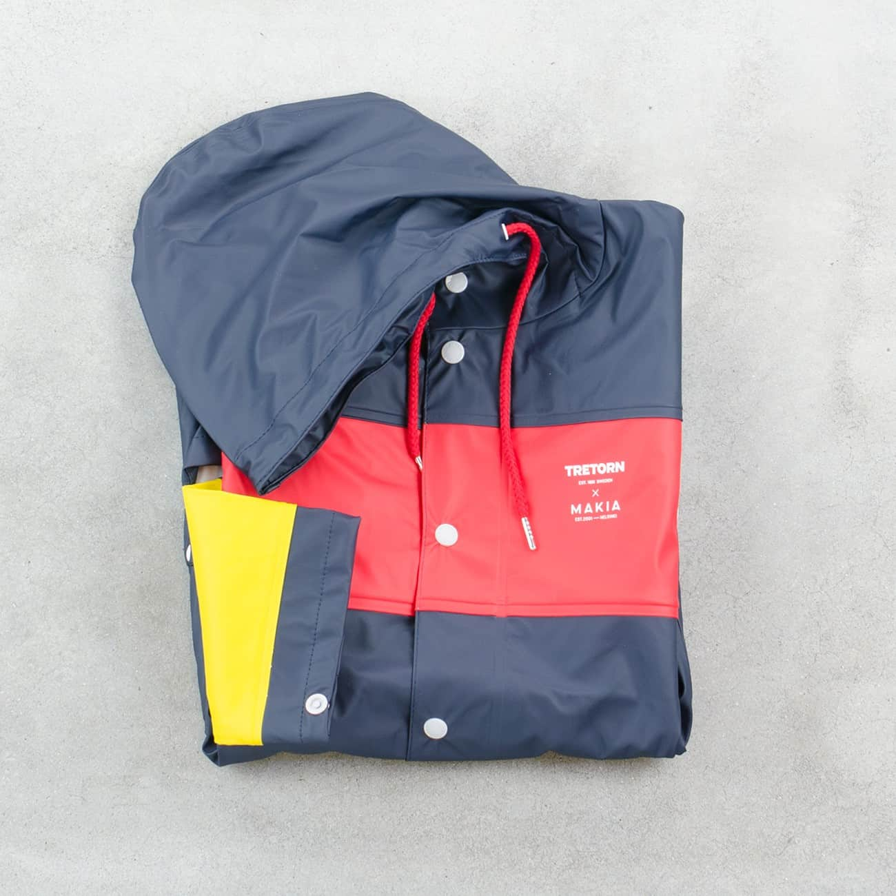 Tretorn x Makia Block Rain Jacket