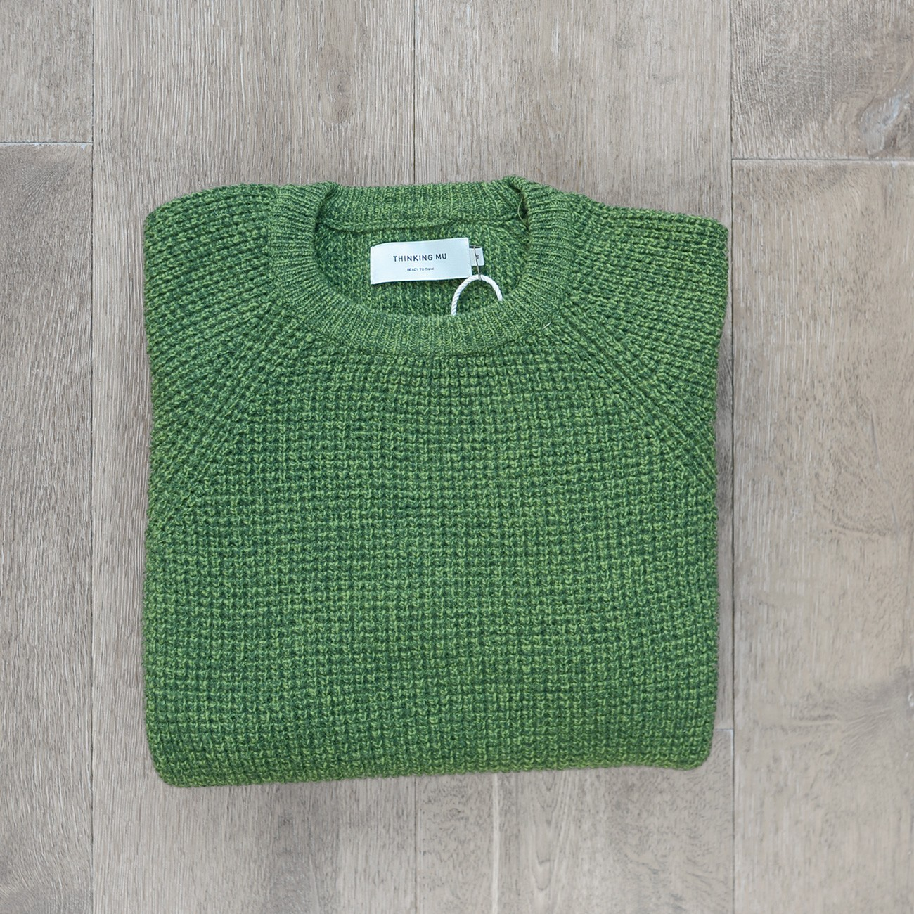 Green Anteros Knitted Sweater