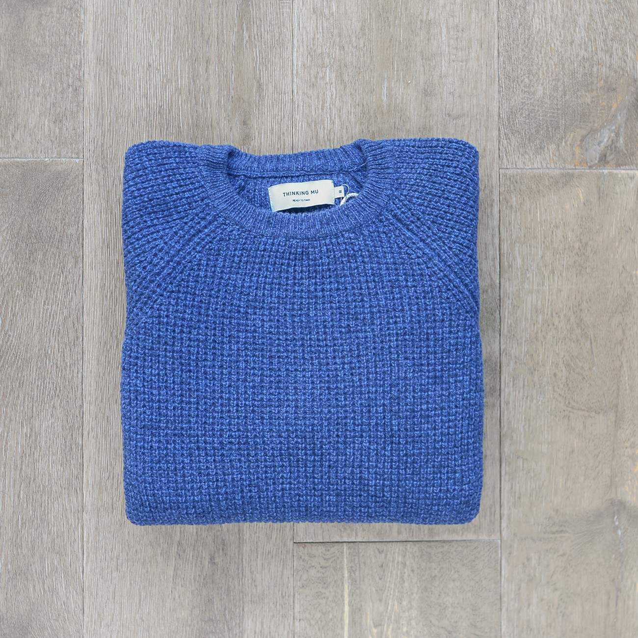 Navy Anteros Knitted Sweater
