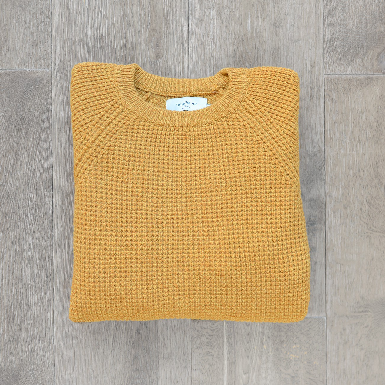 Mustard Anteros Knitted Sweater